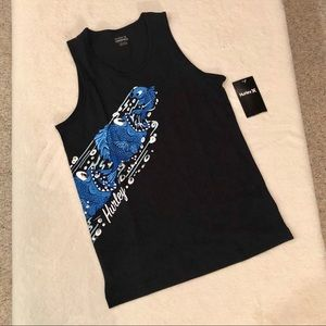 Hurley Graphic Tank Top Large (12-13 years) NWT